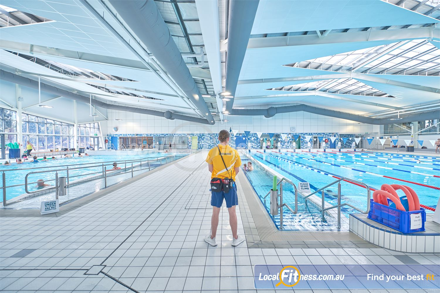 Eltham Leisure Centre Near North Warrandyte Lifeguards always on deck to ensure the safety of our members and guests.