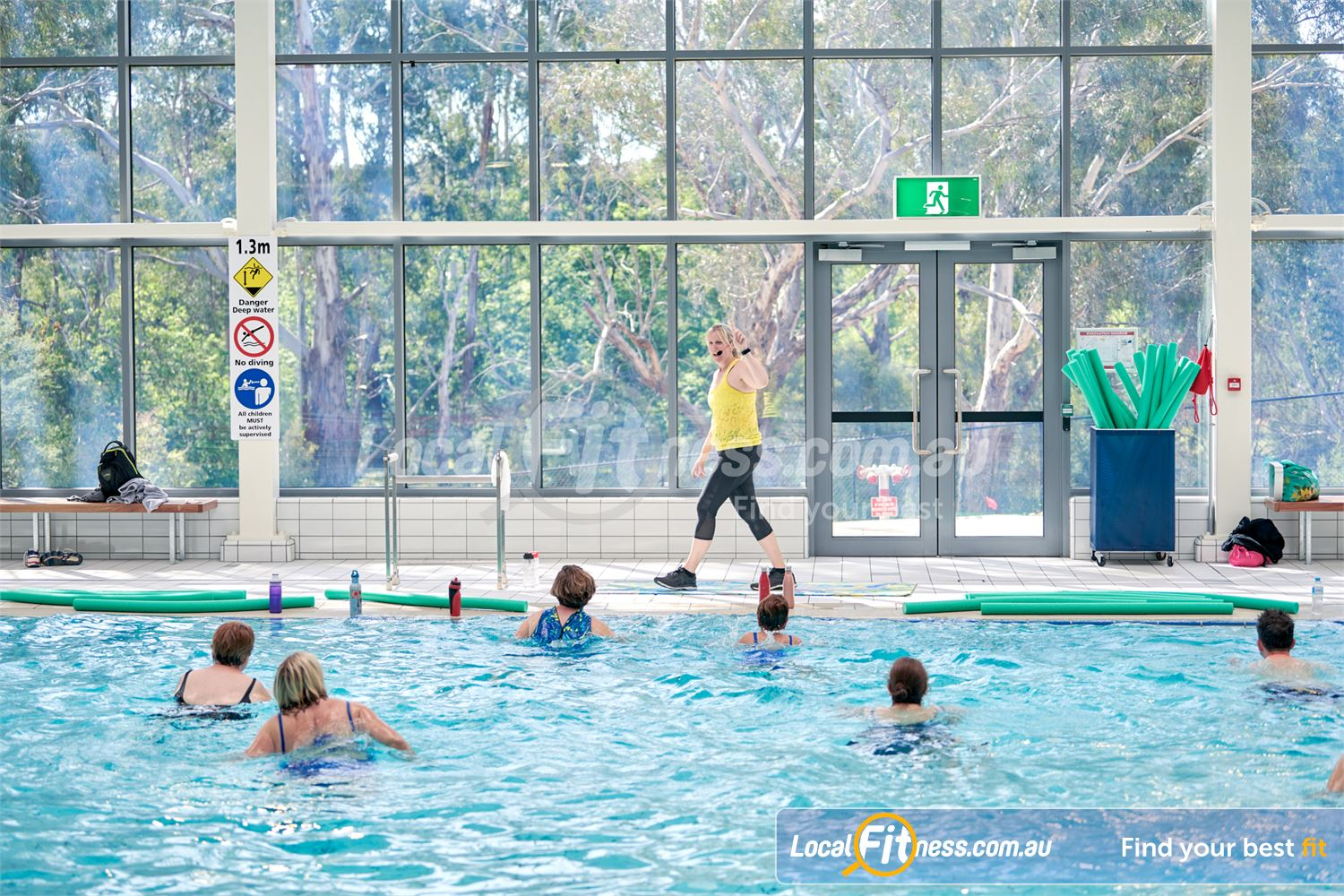 Eltham Leisure Centre Eltham Join our range of aquatic classes in our warm water pool inc aqua Zumba.