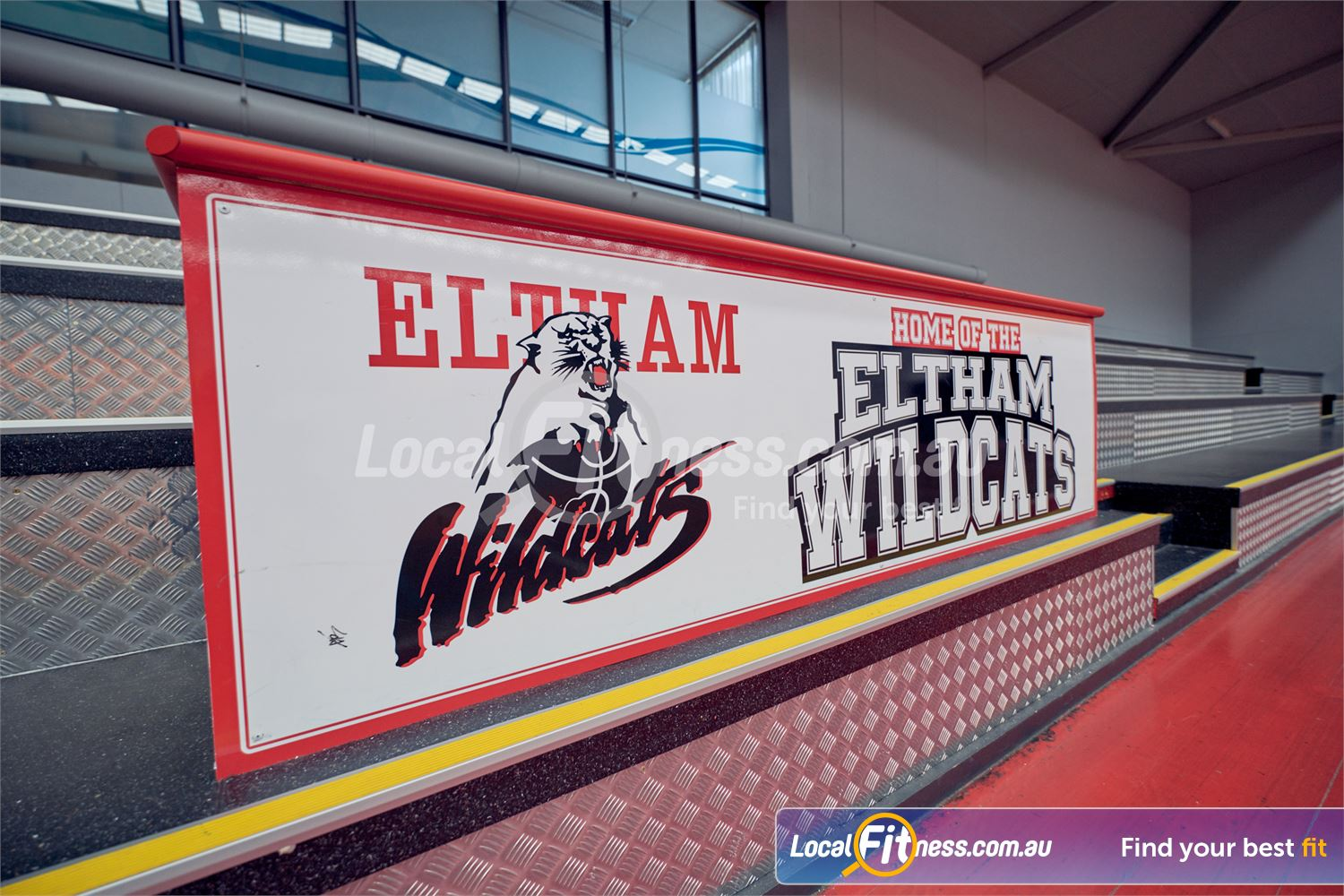 Eltham Leisure Centre Near Research The Eltham basketball court is home to the Wletham Wildcats.