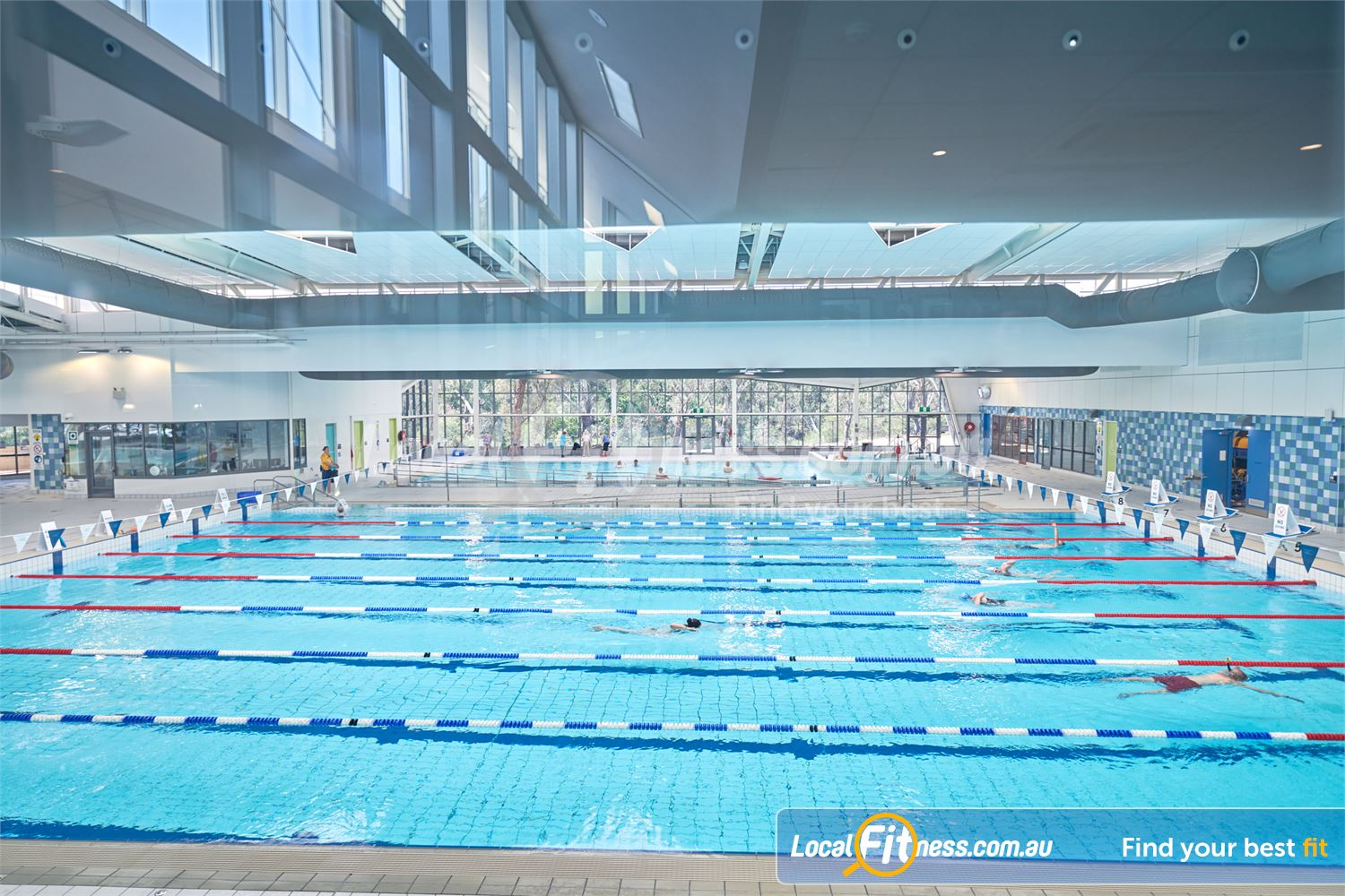 Eltham Leisure Centre Near Templestowe Lap lane swimming is open for all at our Eltham swimming pool.