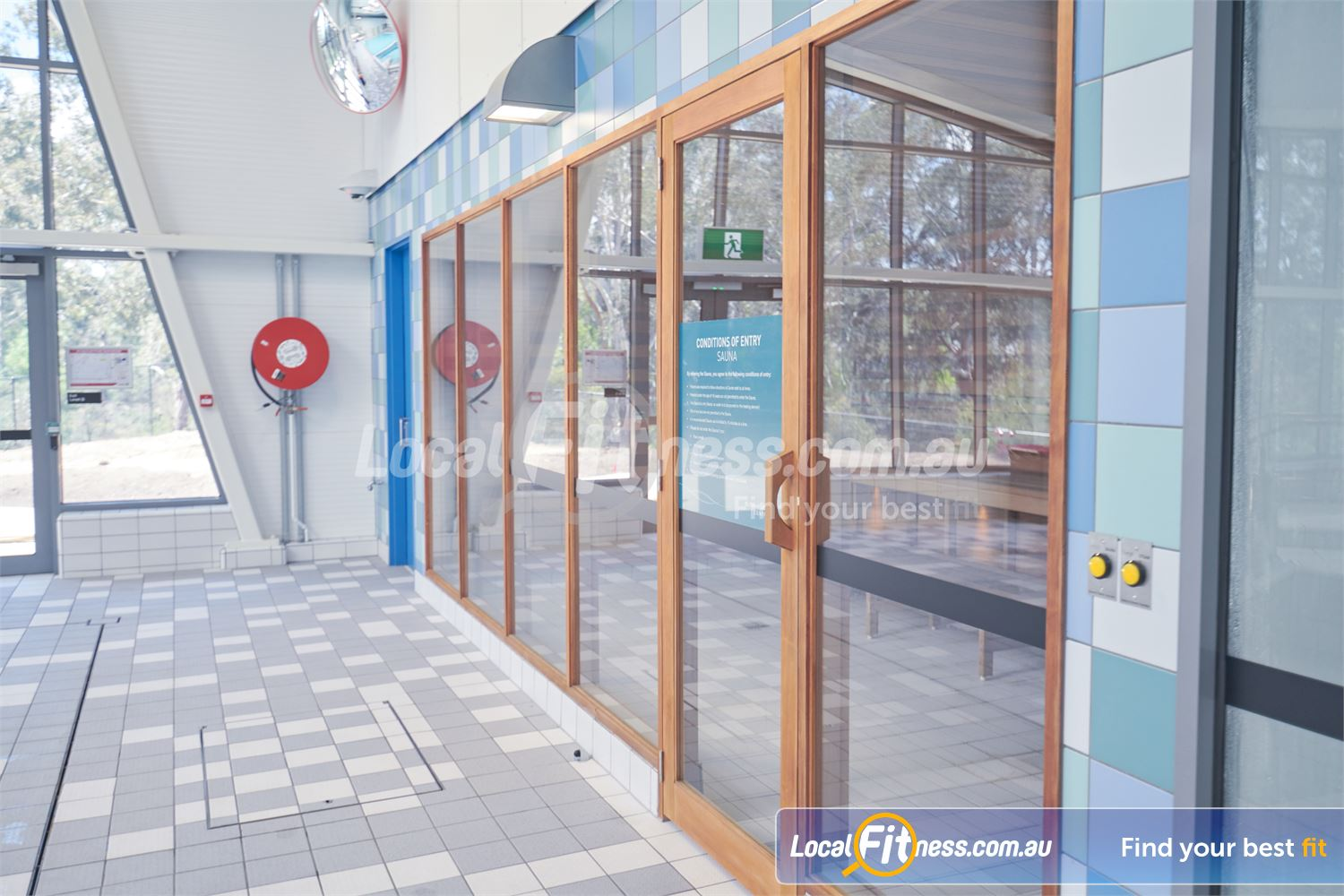 Eltham Leisure Centre Near North Warrandyte Detox your body with our sauna facility.