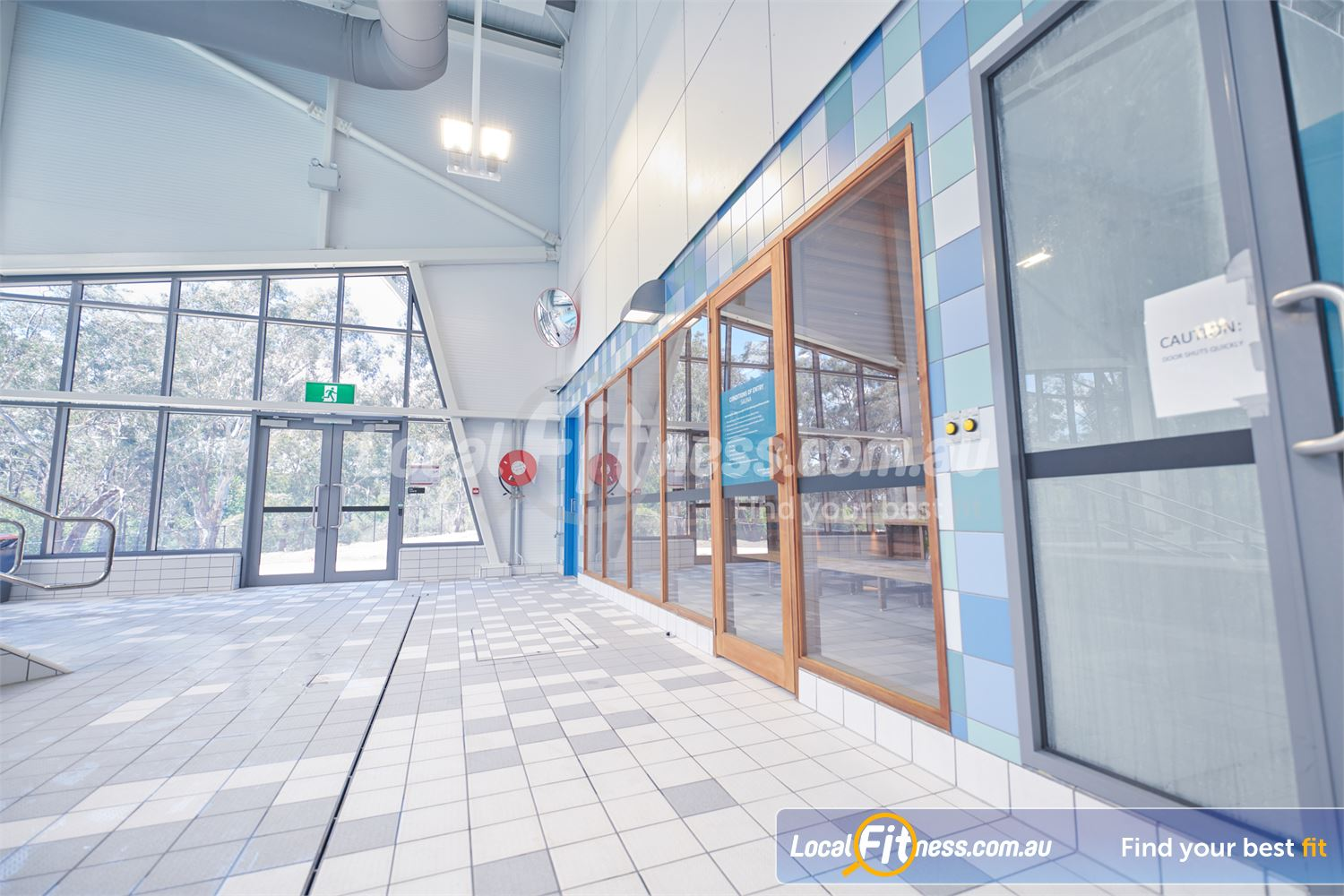 Eltham Leisure Centre Eltham steam room and sauna facilities in the new aquatic area.