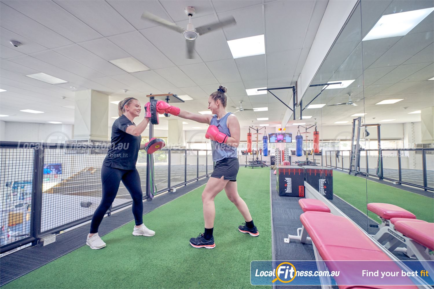 Fernwood Fitness Near Westmeadows Our team can create a cardio boxing workout for women in Tullamarine.