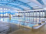 8 lane 25m indoor Devonport swimming pool.