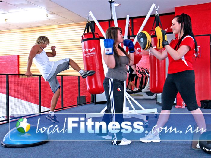 Re-Creation Health Clubs Keysborough Complete with speedballs, punch / kick bags, floor to ceiling balls.<br /><br /><br />