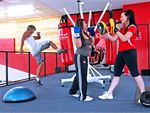 Re-Creation Health Clubs Keysborough Gym Boxing Complete with speedballs, punch