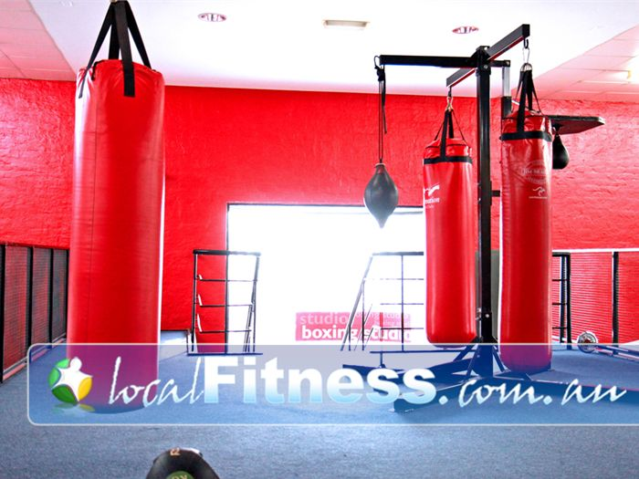 Re-Creation Health Clubs Noble Park Gym Boxing A dedicated boxing studio in