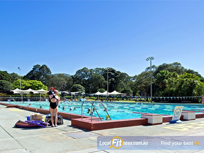 Victoria Park Pool Swimming Pool Sydney  | The outdoor 50m Camperdown swimming pool.