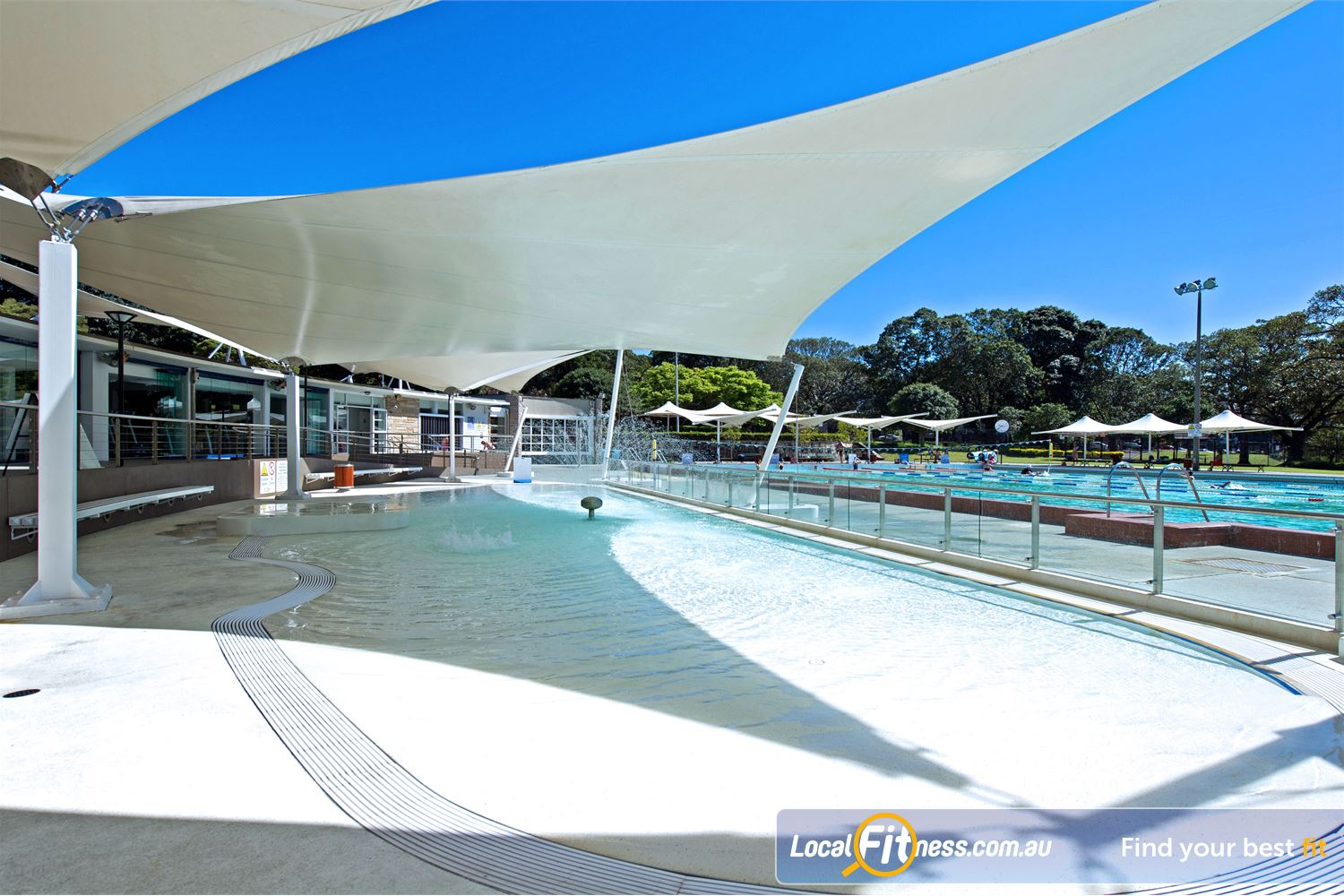 Victoria Park Pool Camperdown Our splash pool for the toddlers.