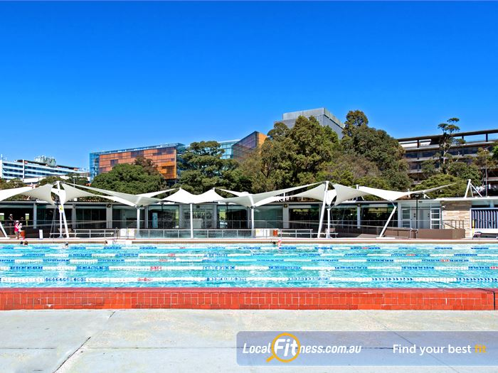 Victoria Park Pool Marrickville Gym Swimming Lap lane swimming available