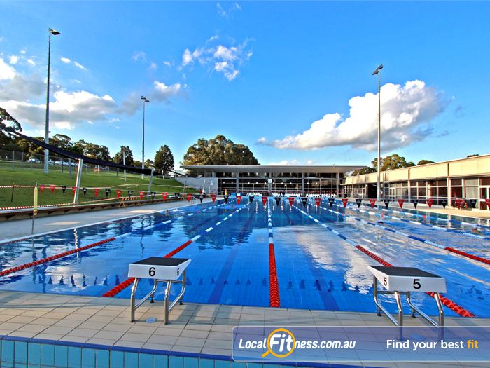 Macquarie University Sport & Aquatic Centre Macquarie Park Gym Sports 50m outdoor outdoor Macquarie