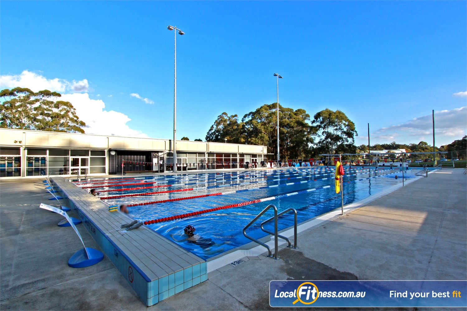 Macquarie University Sport & Aquatic Centre Near North Ryde Enjoy our scenic outdoor Macquarie Park swimming pool.