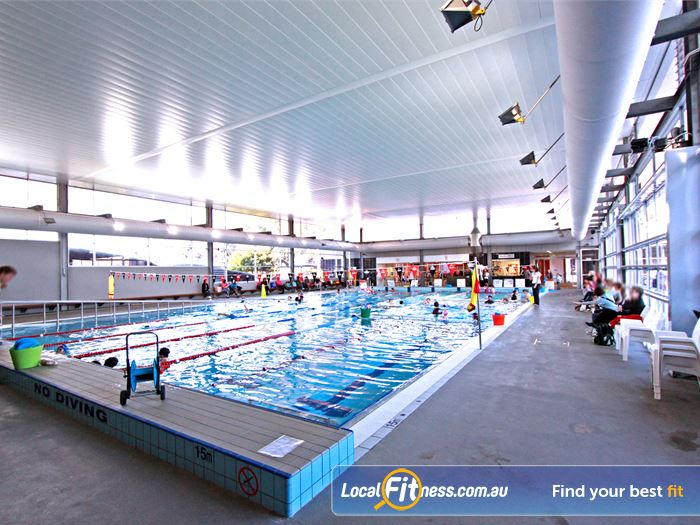 Macquarie University Sport & Aquatic Centre Swimming Pool Sydney  | Macquarie University provides a 25 metre heated indoor