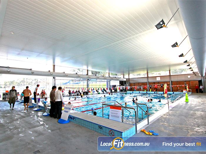 Macquarie University Sport & Aquatic Centre Swimming Pool Chatswood  | Enjoy lap swimming, or enjoy an aqua class