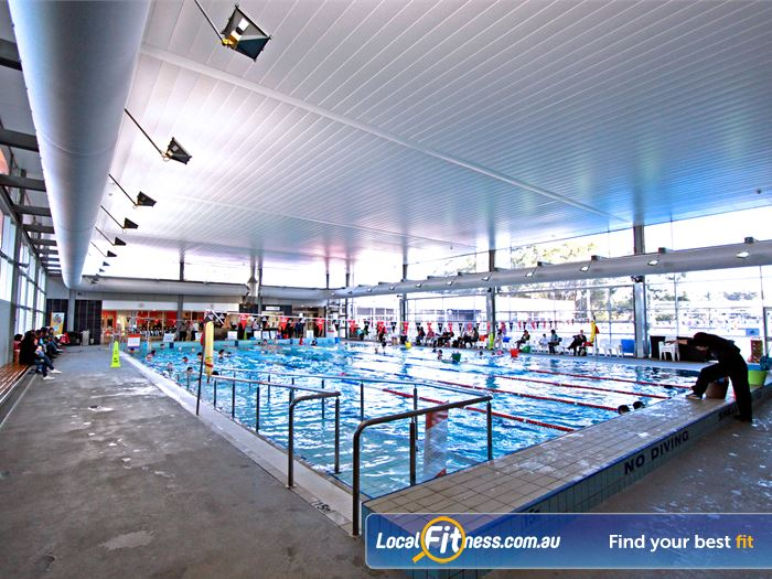 Macquarie University Sport & Aquatic Centre Swimming Pool Sydney  | State of the art aquatic facilities at the