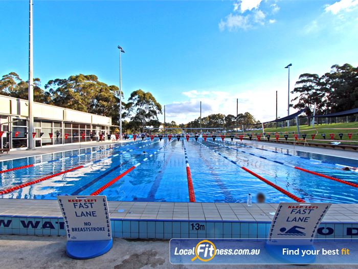 Macquarie University Sport Aquatic Centre Outdoor Pool Macquarie Park 50m Outdoor Outdoor