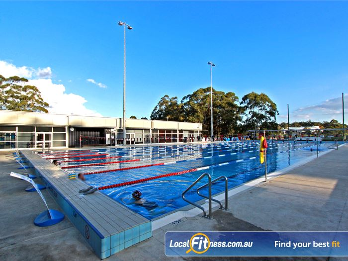 Macquarie University Sport Aquatic Centre Outdoor Pool Near Marsfield The Outdoor Macquarie