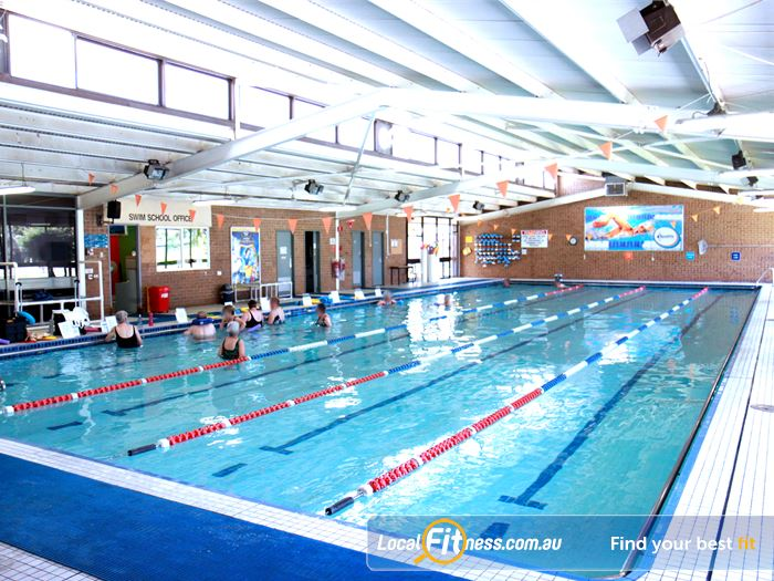 Goodlife Health Clubs Swimming Pool Hyde Park    Relaxing aqua facilities formembers and guests.