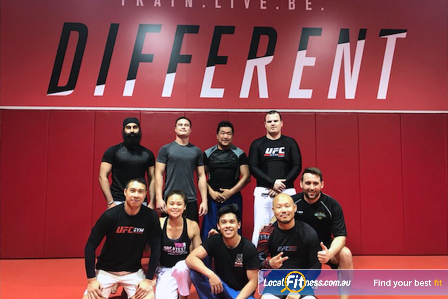 UFC Gym Blacktown Welcome to the grappling arena at UFC Gym.