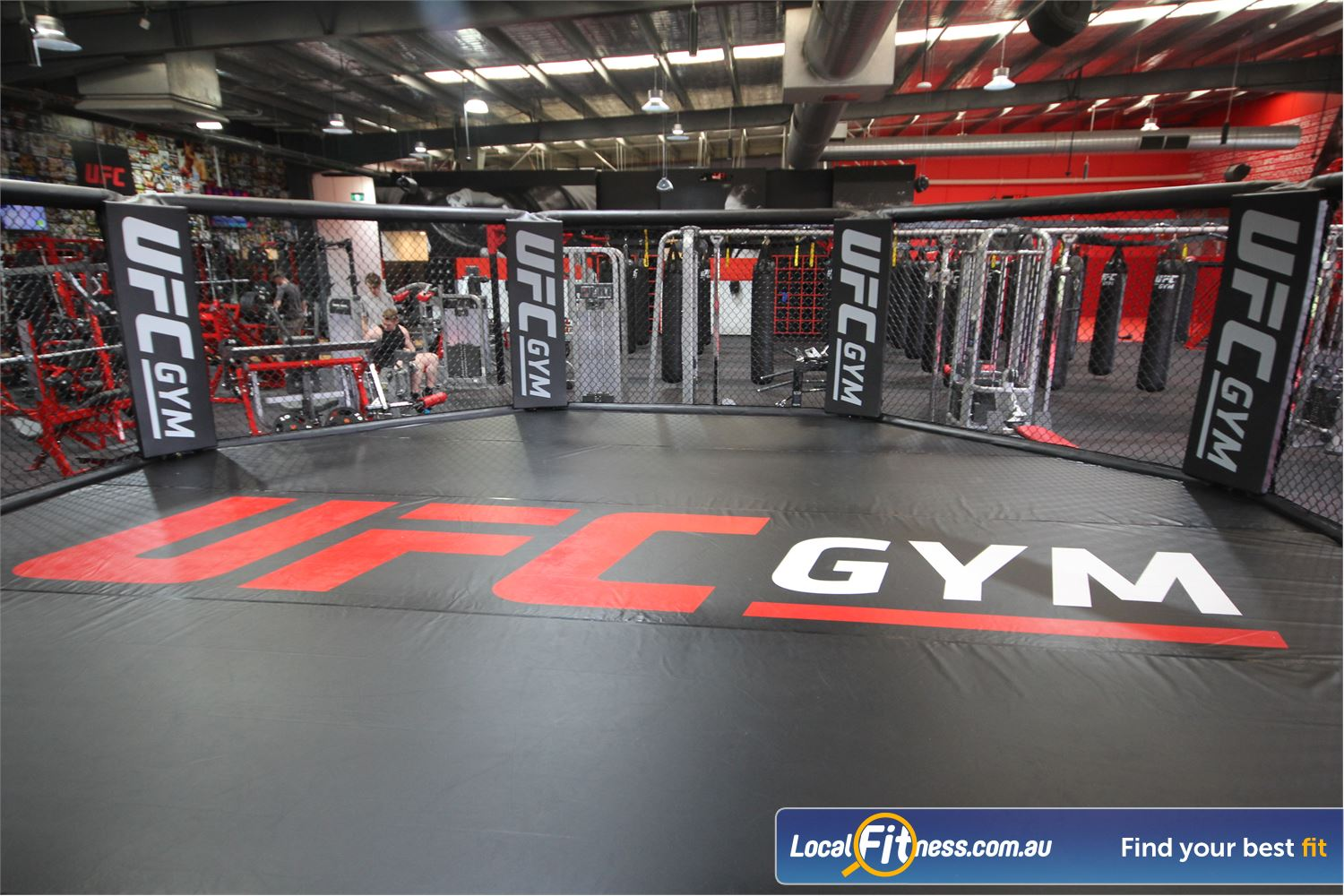 UFC Gym Near Huntingwood Experience the famous UFC Octogan only at UFC GYM Blacktown.