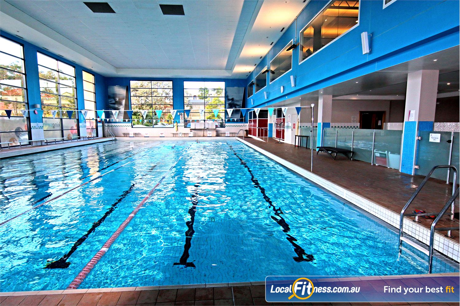 Fitness First Carindale Enjoy lap swimming or our range of aqua classes.