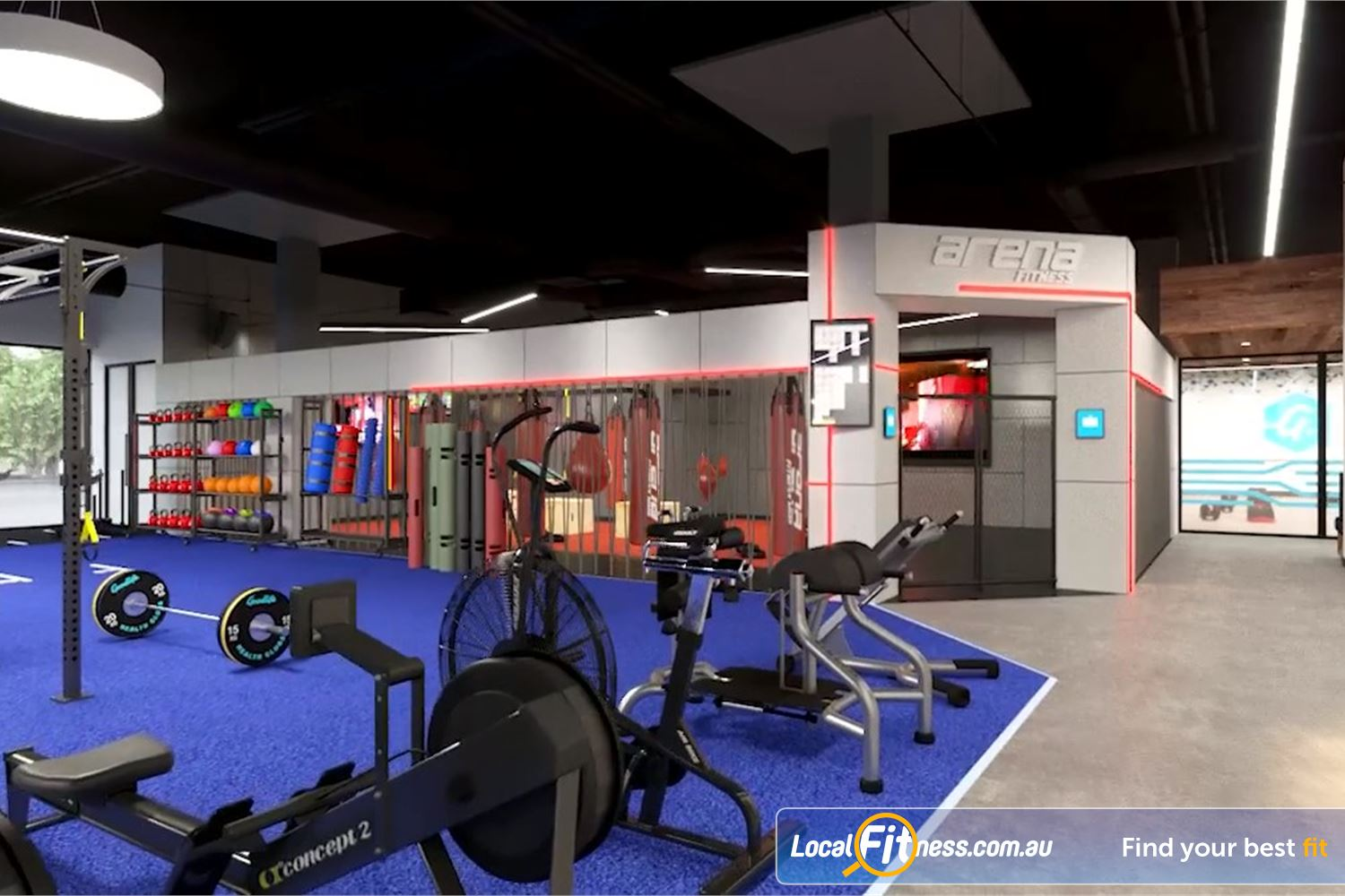 Goodlife Health Clubs Toowoomba The Arena Fitness MMA studio at Goodlife Toowoomba.<br /><br />