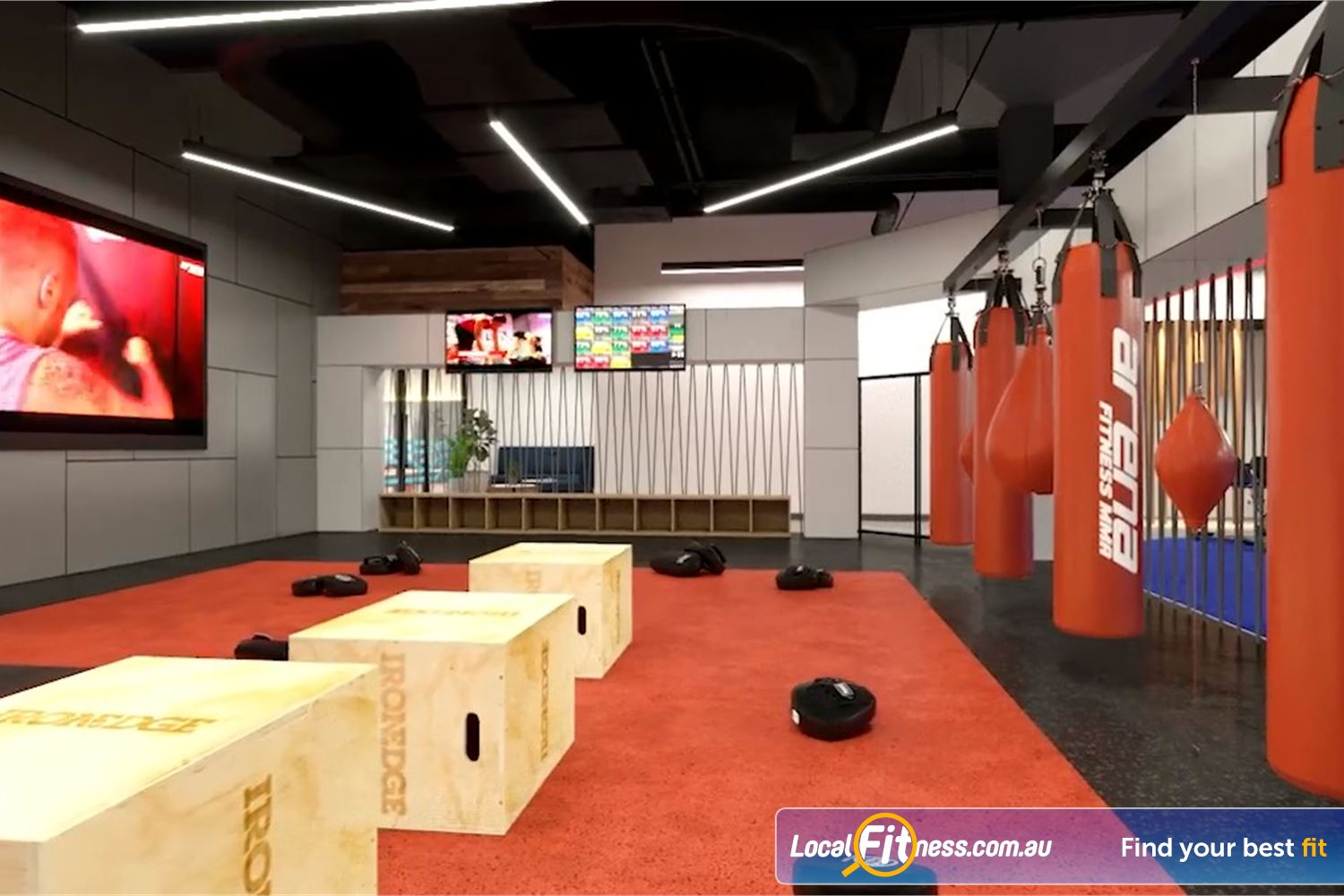 Goodlife Health Clubs Toowoomba Toowoomba Arena Fitness MMA - classes inspired by MMA and Boxing.