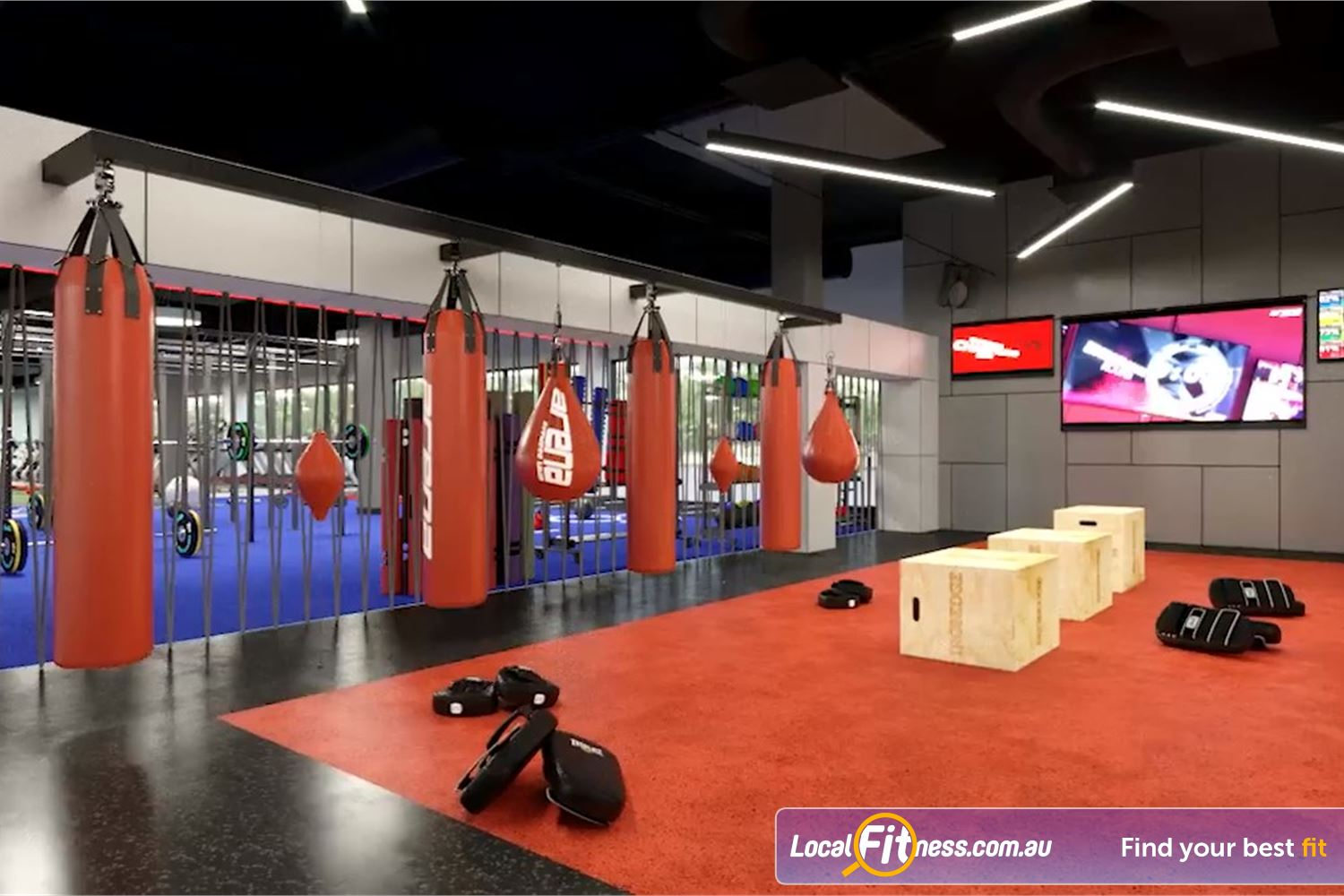 Goodlife Health Clubs Near Wilsonton Coach-led HIIT and functional training classes in Toowoomba.