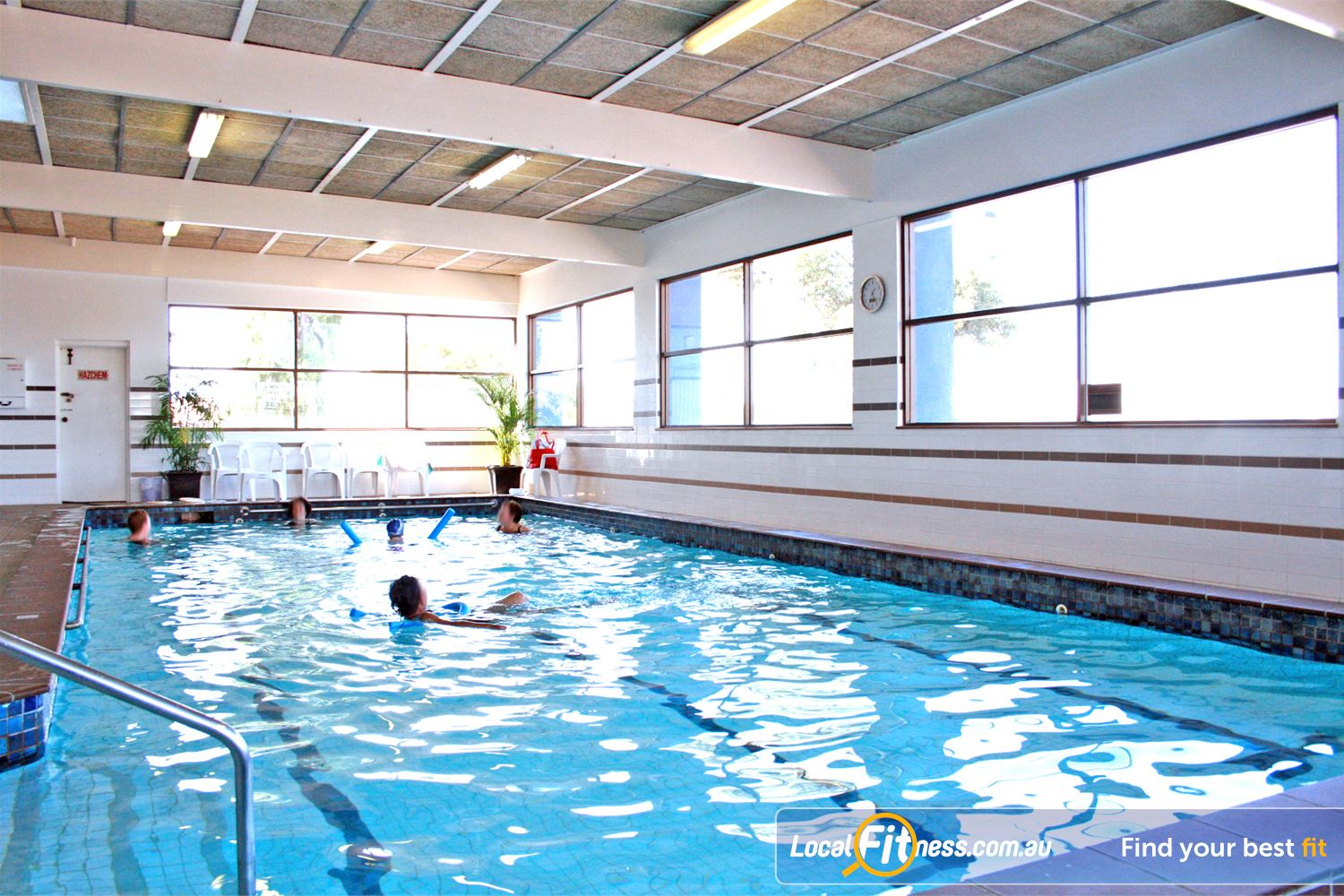 Goodlife Health Clubs Hoppers Crossing Our 15 metre Hoppers Crossing swimming pool.