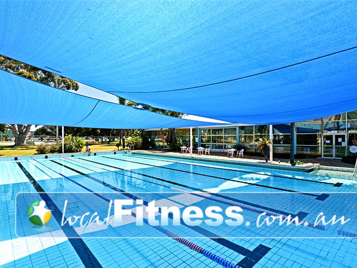 Belmont Oasis Leisure Centre Belmont 25m outdoor Belmont swimming pool is heated and partially covered for all year swimming.