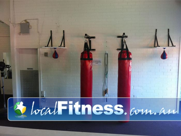 Bulleen Health and Fitness Bulleen Dedicated Bulleen boxing area.