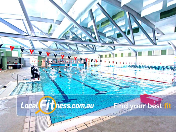Ashburton Pool & Recreation Centre Swimming Pool Waverley Park  | The 25m indoor Asburton swimming pool.