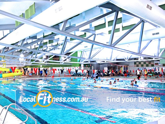 Ashburton Pool & Recreation Centre Swimming Pool Waverley Park  | 8 lane heated Ashburton swimming pool.