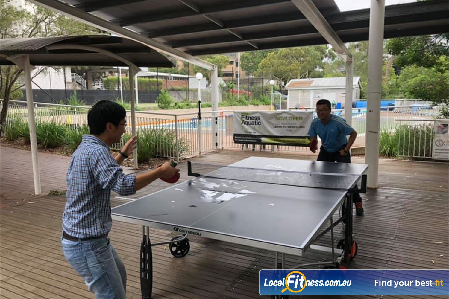 North Ryde Fitness & Aquatic North Ryde Challenge your friends with a friendly table tennis match.