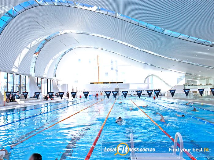 Ian Thorpe Aquatic Centre Swimming Pool Rozelle  | The iconic 50m heated indoor Sydney Ultimo swimming