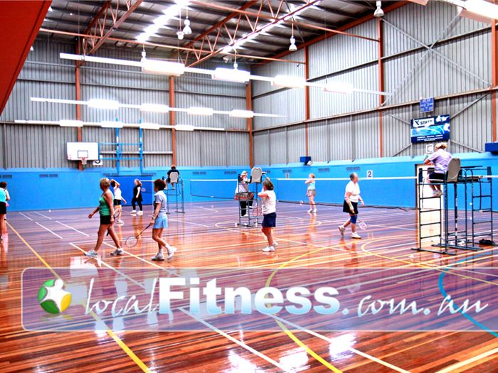 Diamond Valley Sports & Fitness Centre Near Saint Helena Offering multiple badminton courts for the whole community.