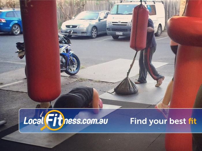 Healthy Vibes Personal Training Near Templestowe Lower Heavy punch bags, floor to ceiling bags, speed balls and more.