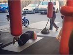 Healthy Vibes Personal Training Templestowe Lower Gym Boxing Heavy punch bags, floor to