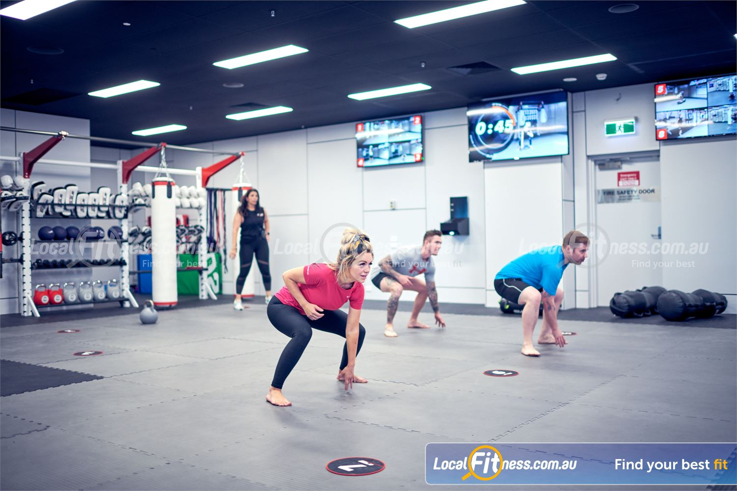 Goodlife Health Clubs Near Reedy Creek Coach-led HIIT and functional training classes in Robina.