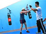 Fitness Central Oakleigh East Gym Boxing Sparring mats.