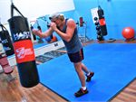 Fitness Central Notting Hill Gym Boxing Open floor with plenty of room.
