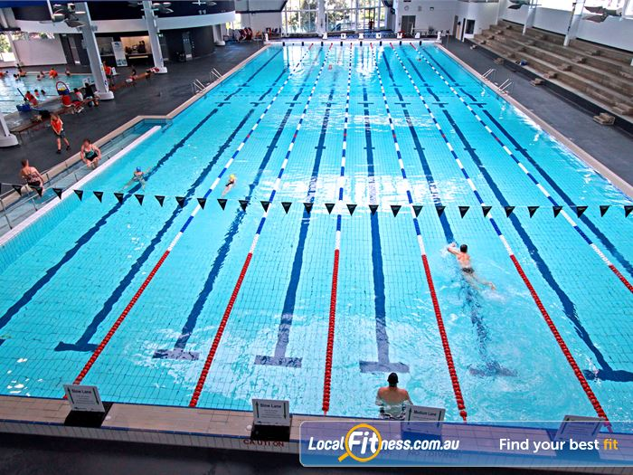WaterMarc Aquatic & Leisure Centre Greensborough The Indoor 50 metre Greensborough swimming pool.