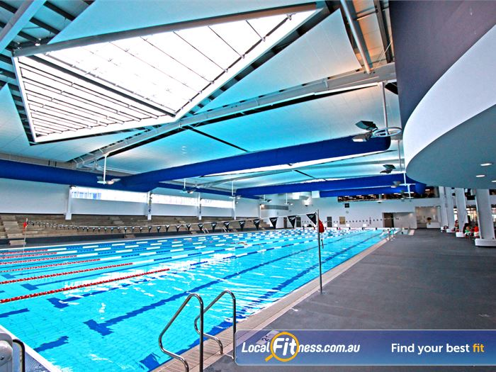 WaterMarc Aquatic & Leisure Centre Near Saint Helena A moveable boom that can create 16 x 25 metre lanes.