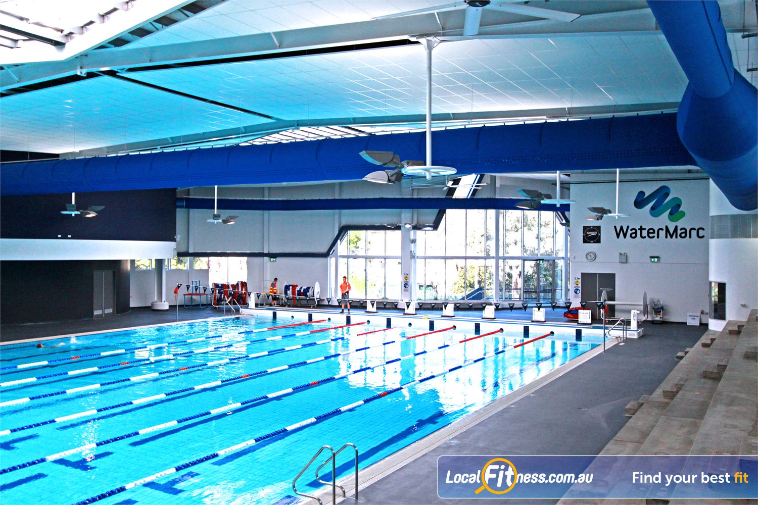 WaterMarc Aquatic & Leisure Centre Near Montmorency A hit with the community and community swimmers.