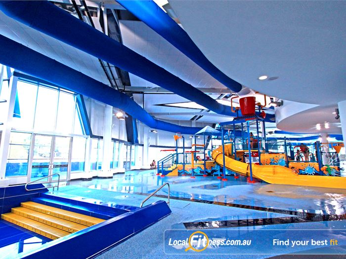 WaterMarc Aquatic & Leisure Centre Greensborough Explore the many interactive features of the water playground.