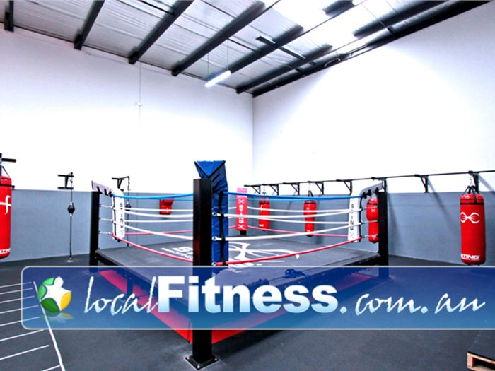 YMCA Monash Fitness Centre Clayton Gym Boxing Our Mt Waverley Boxing ring.