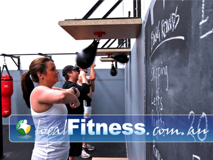 YMCA Monash Fitness Centre Notting Hill Gym Boxing Fully equipped with speed balls,
