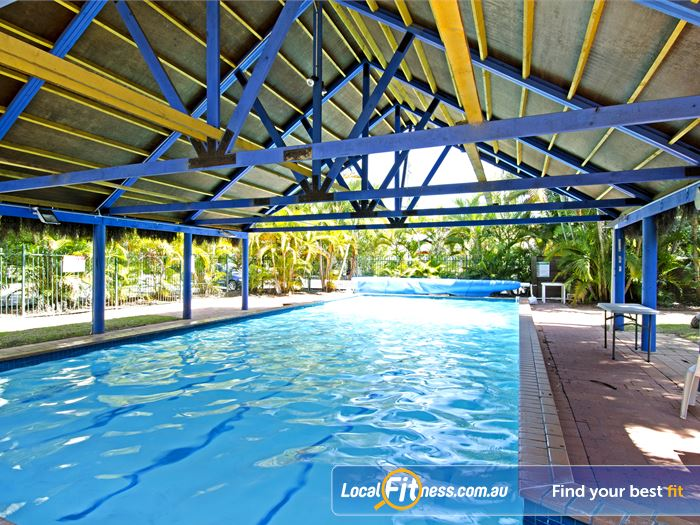Goodlife Health Clubs Swimming Pool Kelvin Grove  | Relaxing decking area for members and guests.