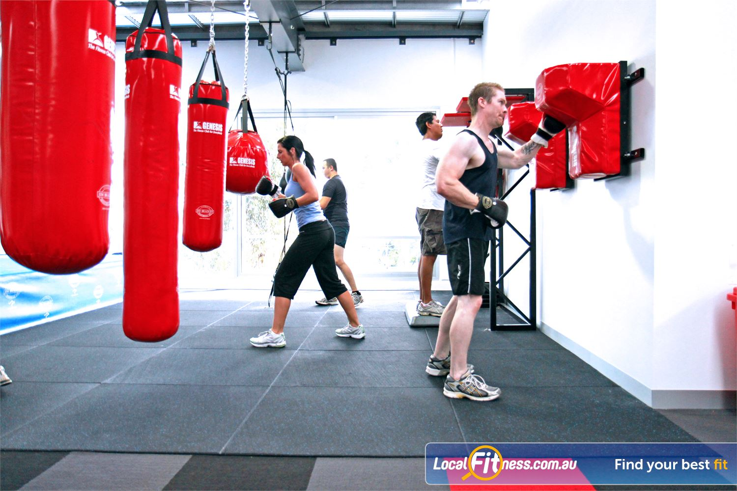 Genesis Fitness Clubs Maidstone Join in on our many 'specialised boxing' classes in Maidstone.