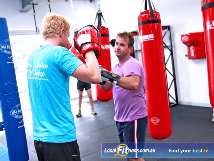 Genesis Fitness Clubs Maidstone Experience cardio boxing with our many Maidstone personal trainers.